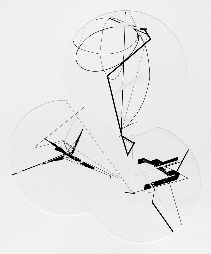untitled (3 spheres, 3 circles)